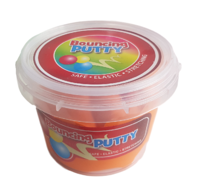 Bouncing putty - Kneedklei - Oranje - Slijm