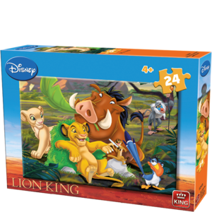 Puzzel Disney Lion King - 24 Stukjes