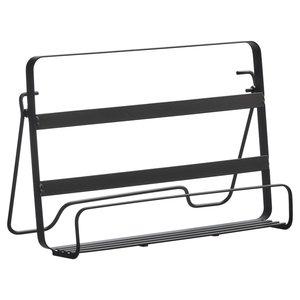 Kookboek standaard JURN - Zwart - Metaal - 25.8 x 8 x 19 cm