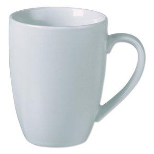 Koffiekop / Mok - Wit - 29 cl - Porselein - Set van 4