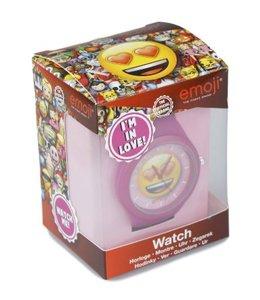 """Emoji - Emoticon - Smiley - Horloge - """"Love"""""""