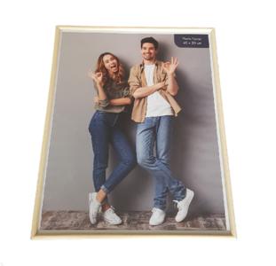 Fotolijst WALT - Bruin - Hout / Glas - 40 x 50 cm