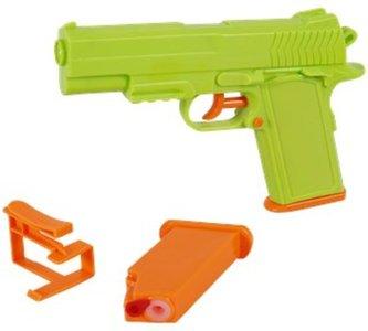 Waterpistool herlaadbaar - Groen / Oranje - Kunststof