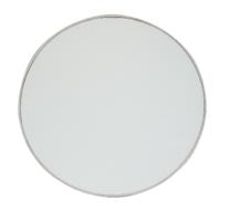 Spiegel ELDERT - Zilver - Metaal - 25 cm - Rond