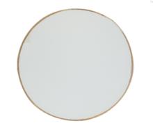 Spiegel ELDERT - Goud - Metaal - 25 cm - Rond