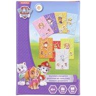 PAW Patrol kleuren kwartet - Paars / Multicolor - Karton - 32 kaartjes - Spel