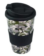 Red Hart - Thermobeker - Camouflage / Zwart - Reisbeker - Ø8.5 X H16cm