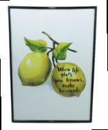 Red Hart - schilder lemon