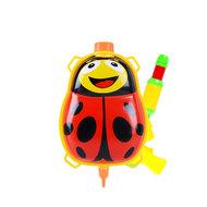 Lieveheersbeestje waterpistool rugzak - Plastic