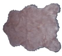 Red Hart - Schapenvacht Willeke - imitatie bont - Oud roze - 68 X 100 CM