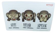Placemat Emoji - Wit - Set van 2 - 43x28cm