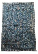Vloerkleed vintage - Blauw - 60x90cm - Tapijt