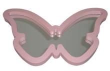 Spiegel MILOU - Vlinder - Roze - 40x24 cm