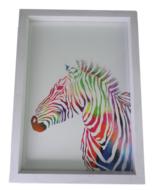 Fotolijst met diepe lijst JANNES - Wit - Box frame - A4 - 23 x 30.6 cm