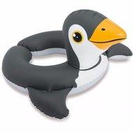 Intex Pinguin zwemband - Zwart / Wit / Oranje - 64 cm
