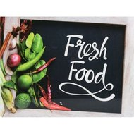Snijplank Fresh Food Spices - Multicolor - Glas - 30 x 40 cm