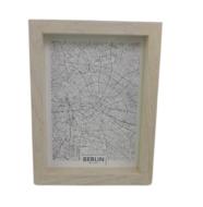 Fotolijst met diepe lijst GEMMA - Bruin - Box frame - 13 x 18 cm