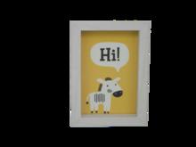Fotolijst met diepe lijst JOKE - Wit - Box frame - 10 x 15 cm