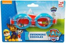 Paw Patrol kinder zwembril - Blauw / Rood - Kunststof