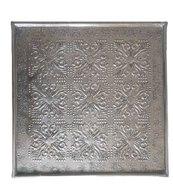 Decoratieschaal met motief STEFAN - Brons - 33 x 33 cm - Vierkant