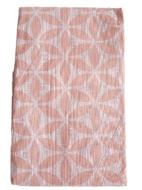 Tafelkleed met bloemetjes motief TOMAS - Roze - Polyethylene - 140 x 180 cm
