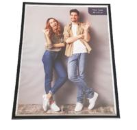 Fotolijst WALT- Zwart - Hout / Glas - 40 x 50 cm