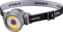 Varta Minion Headlight - Geel / Grijs - Kunststof - LED Zaklamp - 8,3 x 5,3 x 4,6 cm