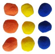 Splash Ballen - Multicolor - Kunststof - Set van 9 - Ø 6.5